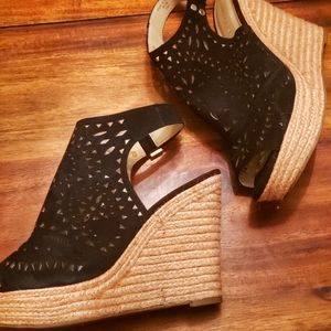 Marc Fisher Harlea Espadrille Wedges